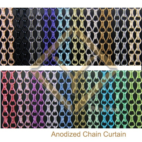 Chain Curtain Detail