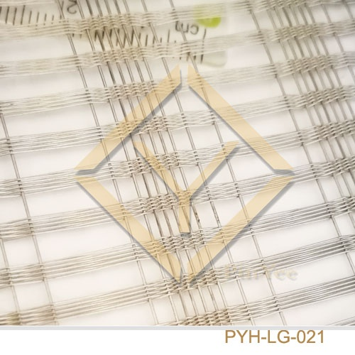 Stainless Wire Mesh Laminated Glass