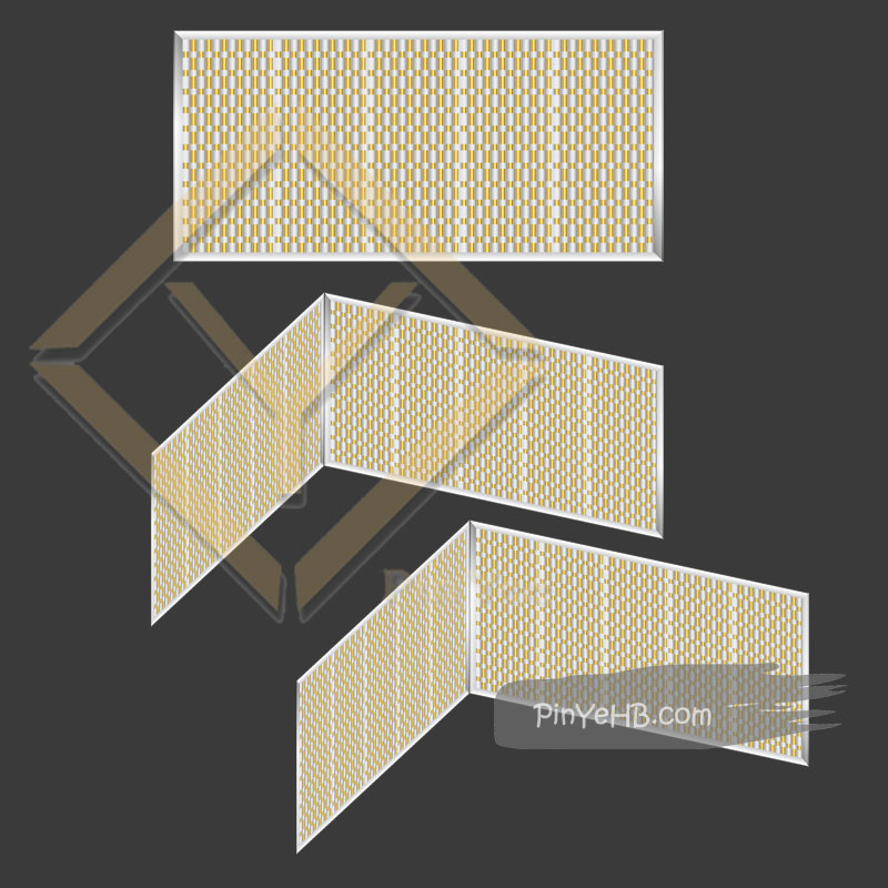Decorative Woven metal 3D pictures for design refer