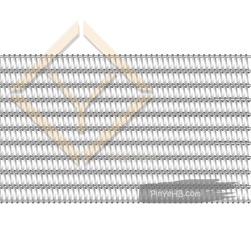 facade use balance woven architectural mesh