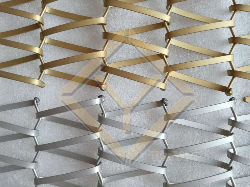 dull finished decorative mesh for interior decorative
