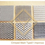 Crimped Mesh Detail