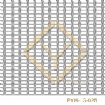 Fine stainless mesh for laminated glass